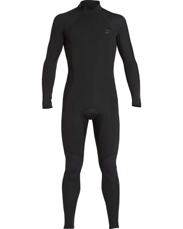 0 5/4mm Furnace Absolute GBS - Traje de Surf con Manga Larga y Cremallera en la Espalda para Chicos Negro Q45B03BIF9 Billabong