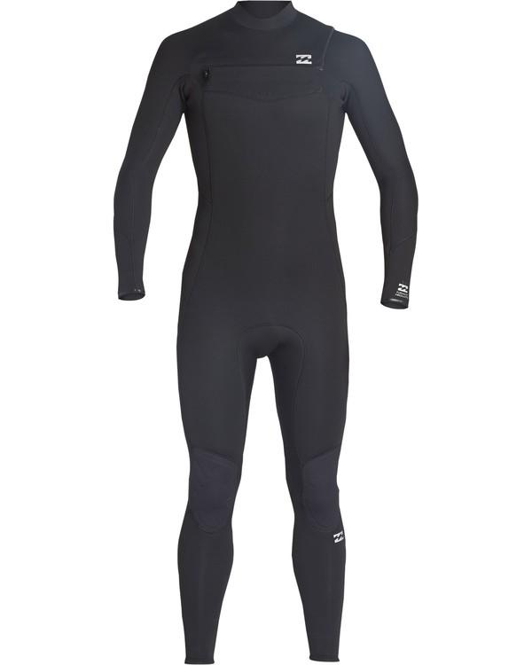 0 5/4mm Furnace Absolute GBS - Chest Zip Langärmeliger Fullsuit Neoprenanzug für Männer Schwarz Q45M09BIF9 Billabong