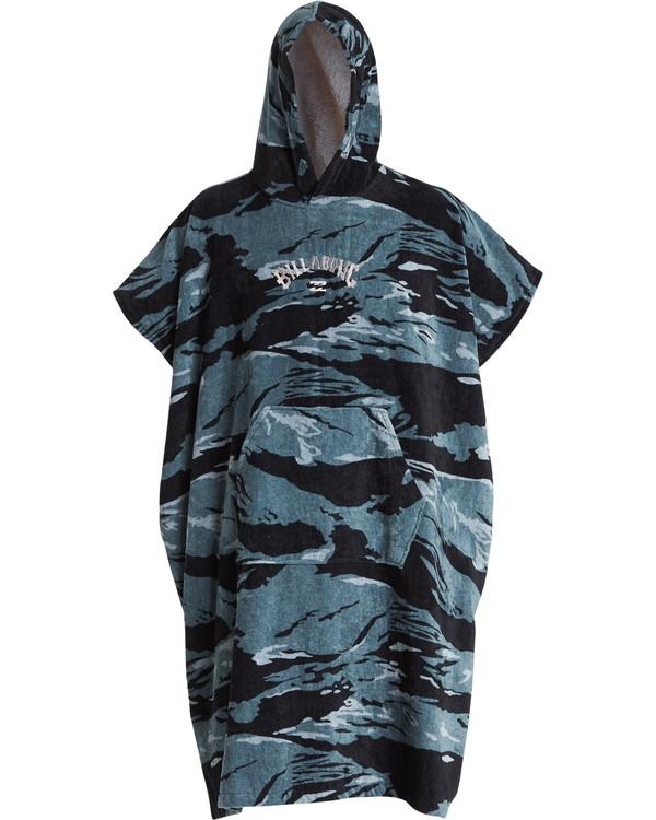 0 Hooded Poncho - Poncho mit Kapuze für Männer Schwarz Q4BR01BIF9 Billabong