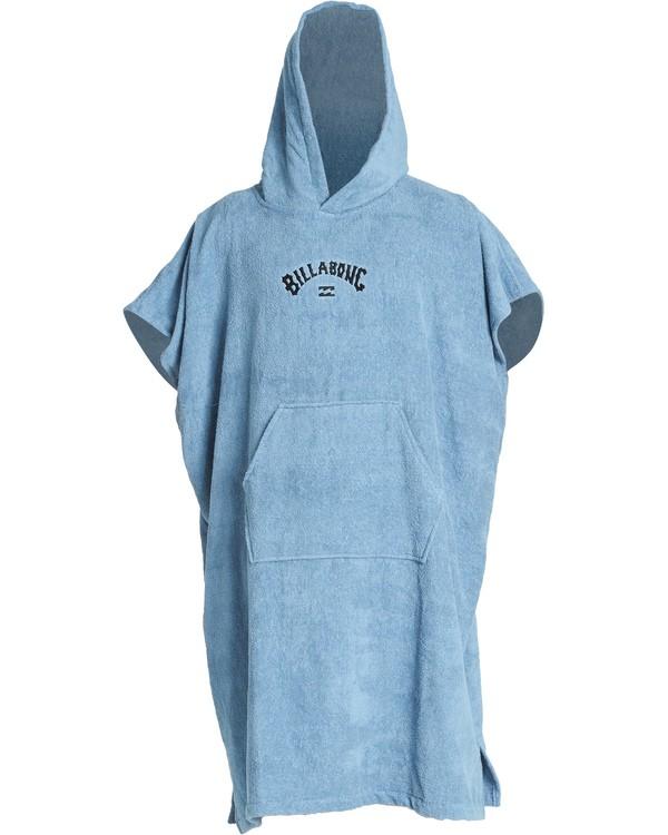 0 Hooded Poncho - Poncho mit Kapuze für Männer Blau Q4BR01BIF9 Billabong