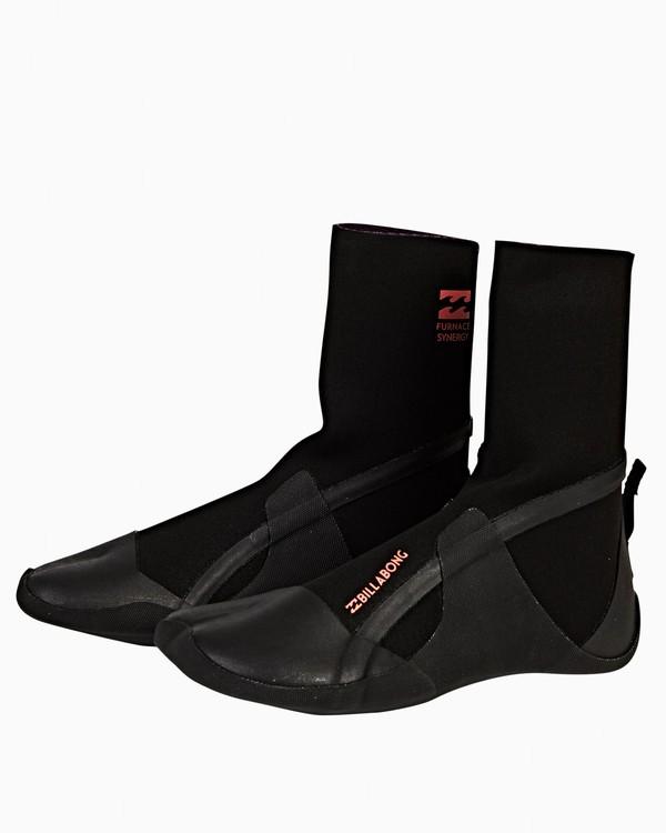 0 5mm Furnace Syn - Split Toe Booties für Frauen Schwarz Q4BT21BIF9 Billabong