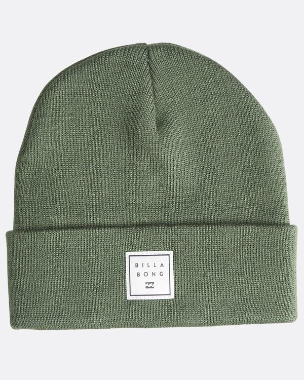 0 Stacked - Bonnet pour Homme Vert Q5BN01BIF9 Billabong