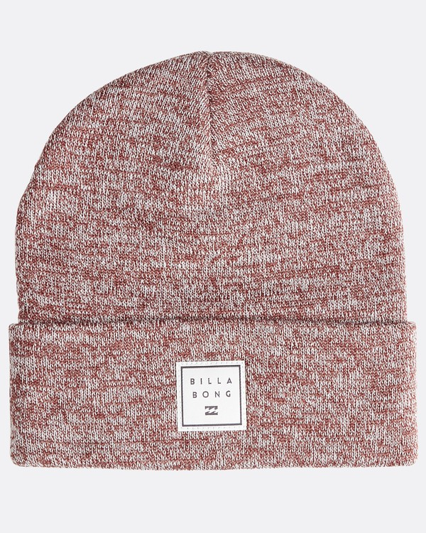 0 Stacked Heather - Gorro Jaspeado Stacked para Hombre  Q5BN02BIF9 Billabong