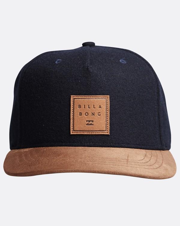 0 Stacked Up - Snapback Cap für Männer Blau Q5CM02BIF9 Billabong