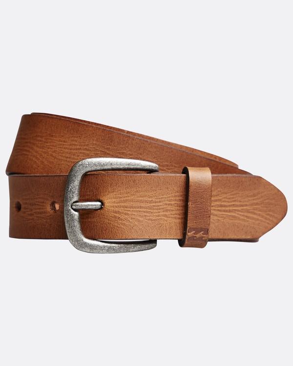 0 All Day - Leather Belt for Men  Q5LB02BIF9 Billabong