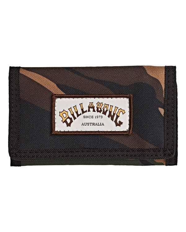 0 Atom - Brieftasche für Männer Gemustert Q5WL01BIF9 Billabong