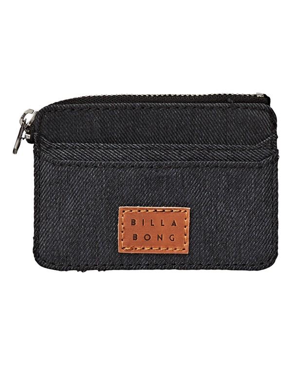 0 Garza Twill - Brieftasche für Herren Grau Q5WM01BIF9 Billabong