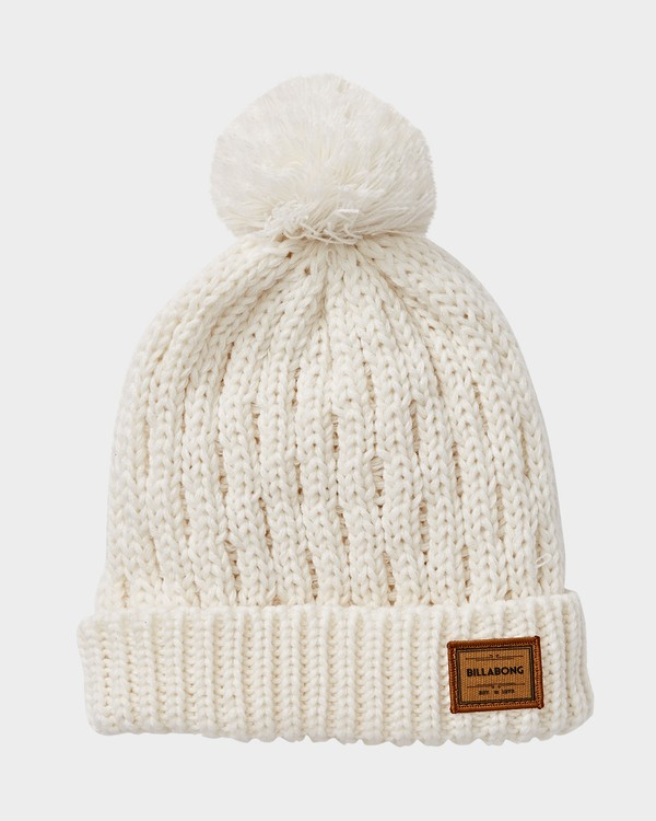 0 GOOD VIBES BEANIE White Q6BN03S Billabong