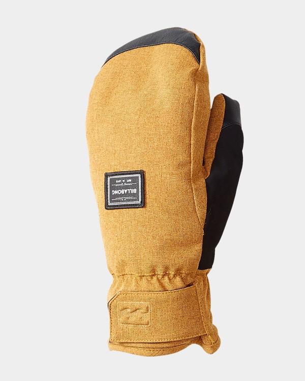 0 Stoke Womens Mitts Yellow Q6GL06S Billabong