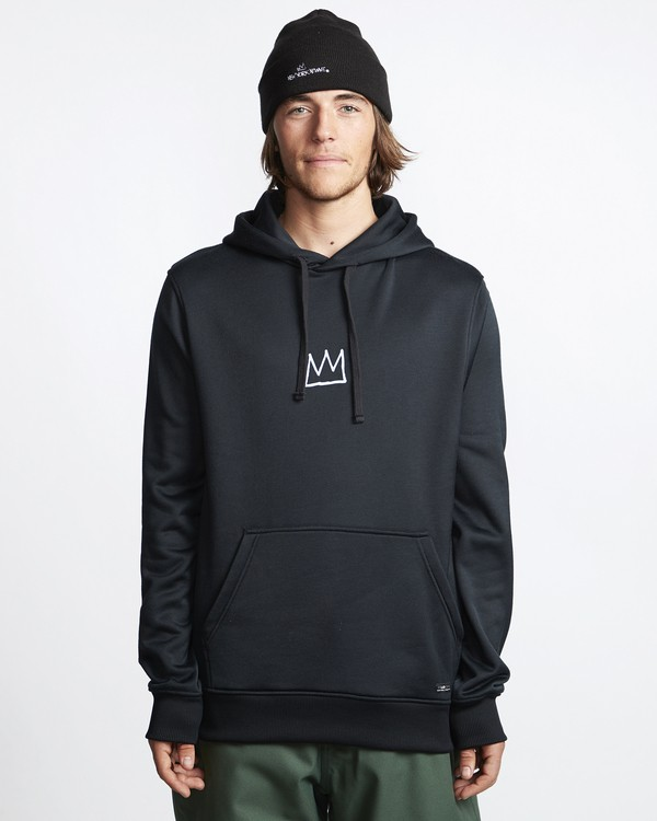 0 Basquiat - Thermo-Fleece Kapuze für Männer Schwarz Q6HO01BIF9 Billabong