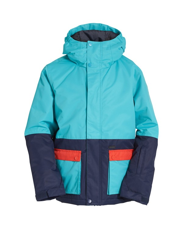 0 Fifty 50 - Snow Jacket for Boys Blue Q6JB02BIF9 Billabong