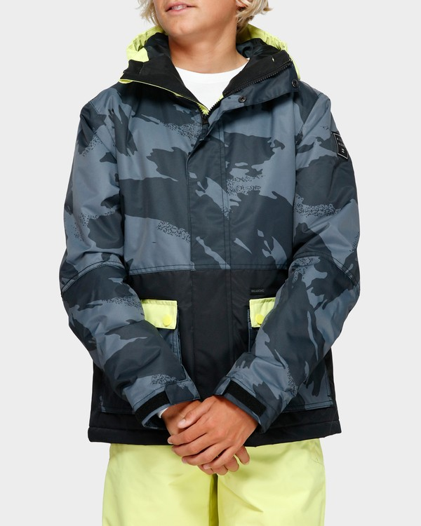 0 Boys Fifty 50 Jacket Yellow Q6JB02S Billabong