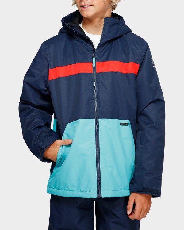 0 Boys All Day 2L 10K Jacket Blue Q6JB10S Billabong