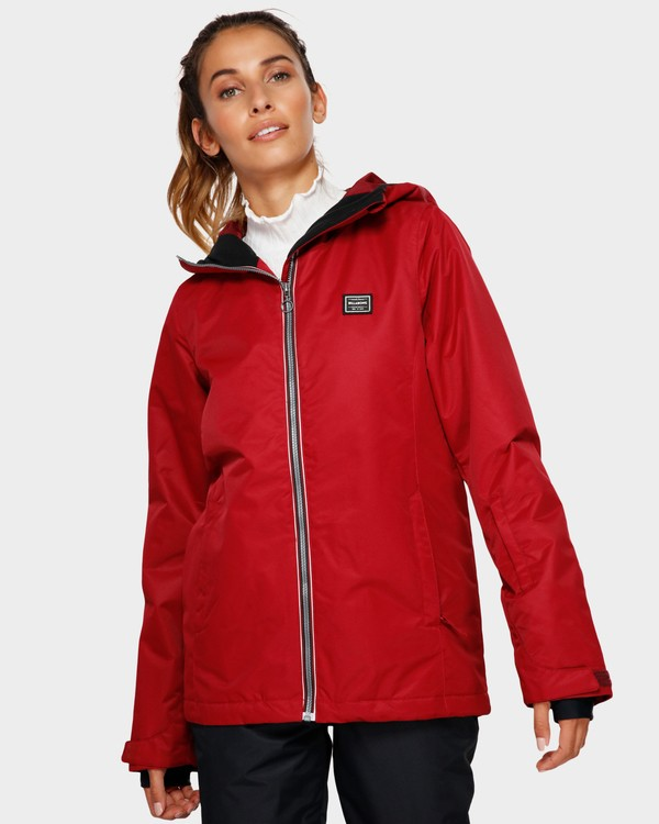 0 Sula 2L 10K Jacket Red Q6JF01S Billabong