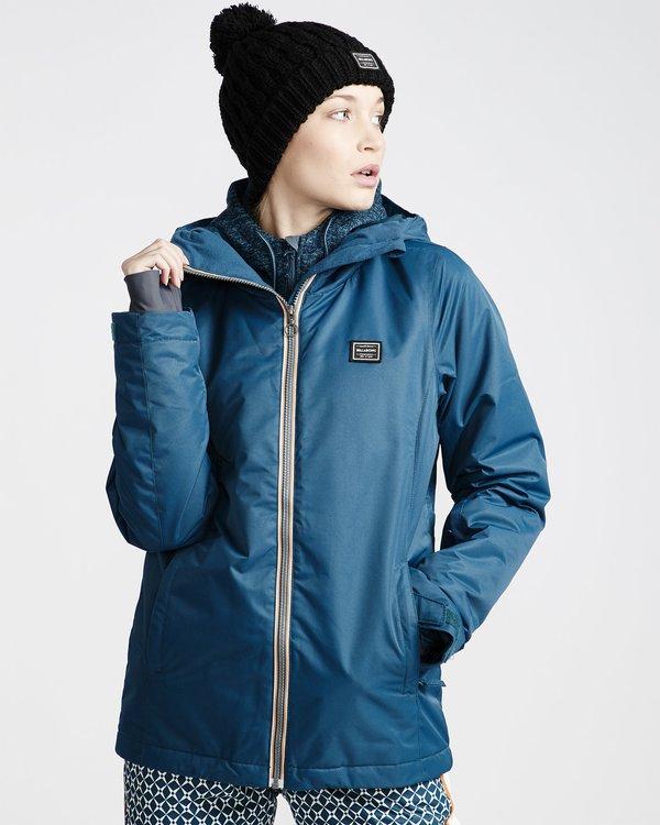 0 Sula 2L 10K Jacket Blue Q6JF01X Billabong