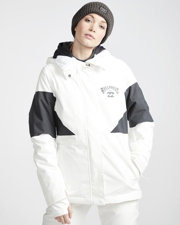 0 Say What - Snow Jacket for Women White Q6JF03BIF9 Billabong