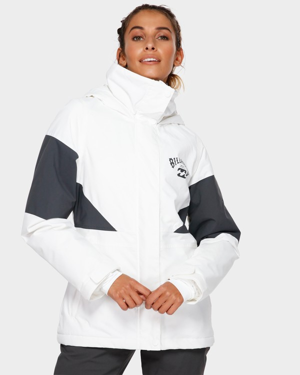 0 Say What 2L 10K Jacket White Q6JF03S Billabong