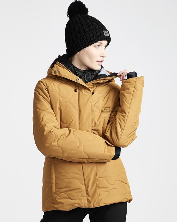 0 Bliss - Ski- und Snowboardjacke für Frauen Gelb Q6JF05BIF9 Billabong