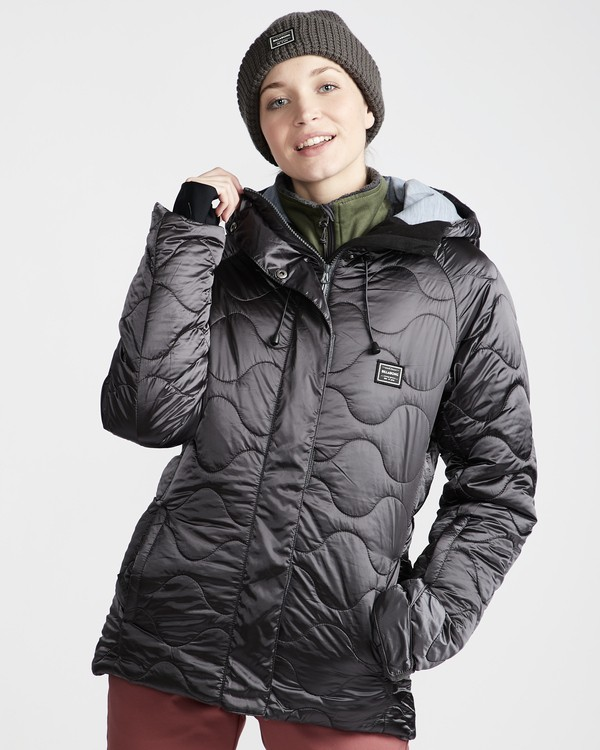0 Bliss - Chaqueta para Nieve para Mujer Gris Q6JF05BIF9 Billabong