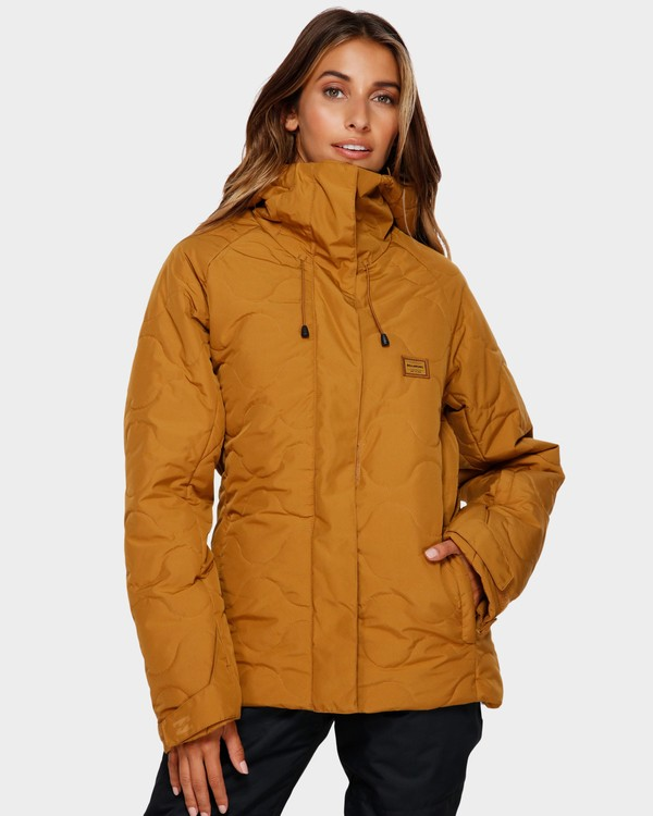 0 Bliss 2L 10K Jacket Yellow Q6JF05S Billabong