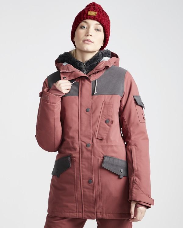 0 Scenic Route - Chaqueta para Nieve para Mujer Violeta Q6JF10BIF9 Billabong