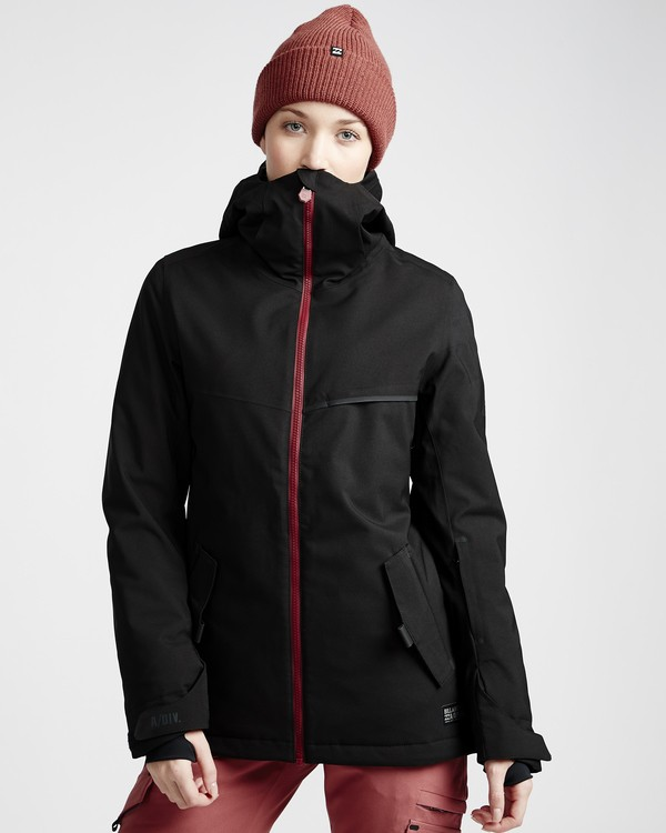 0 Eclipse - Snow Jacket for Women Black Q6JF13BIF9 Billabong