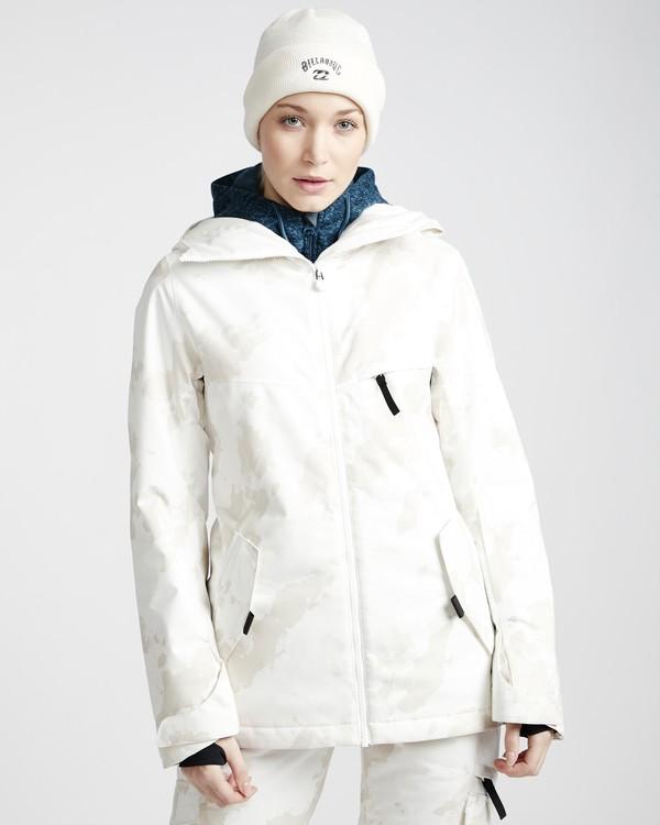 0 Eclipse - Ski- und Snowboardjacke für Frauen Weiss Q6JF13BIF9 Billabong
