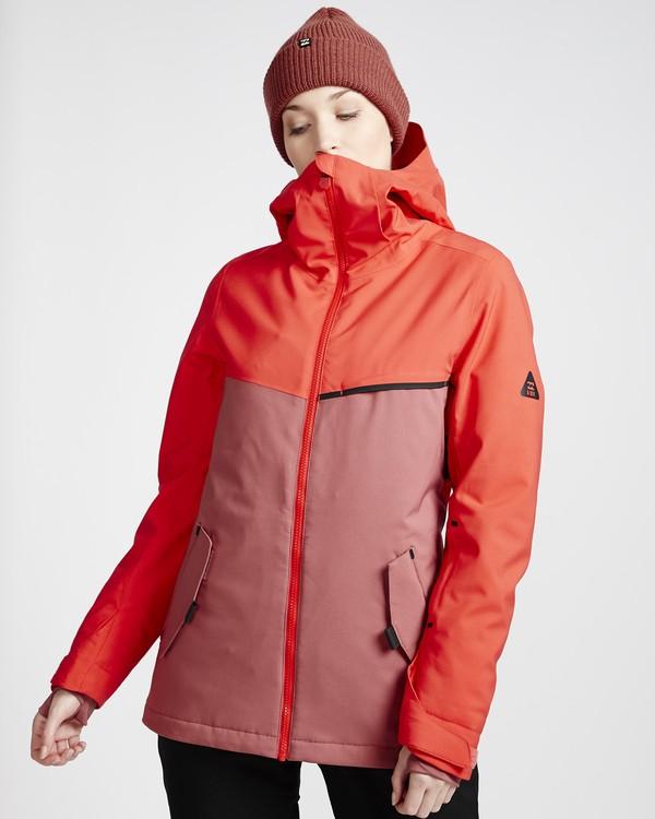 0 Eclipse - Snow Jacket for Women Red Q6JF13BIF9 Billabong