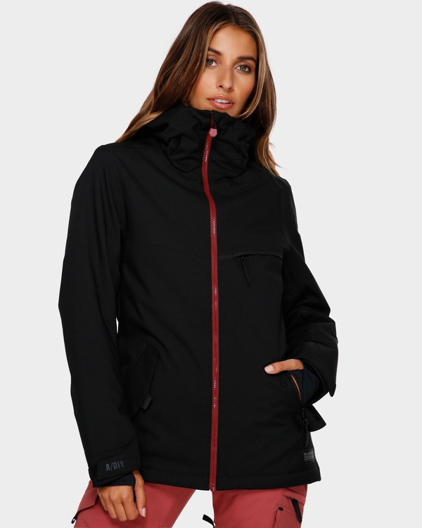 0 Eclipse 2L 15K Jacket Black Q6JF13S Billabong