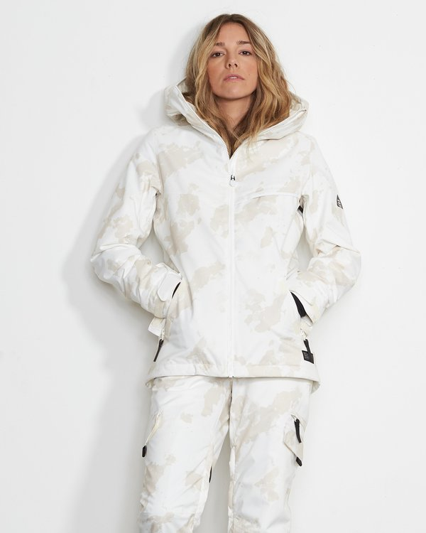 0 Eclipse 2L 15K Jackect White Q6JF13X Billabong
