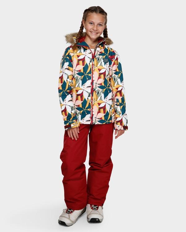 0 Teen Sula 2L 10K Jacket Grey Q6JG01S Billabong