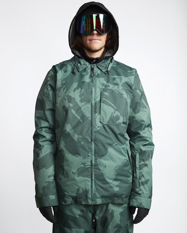 0 Fastplant - Snow Jacket for Men Camo Q6JM02BIF9 Billabong