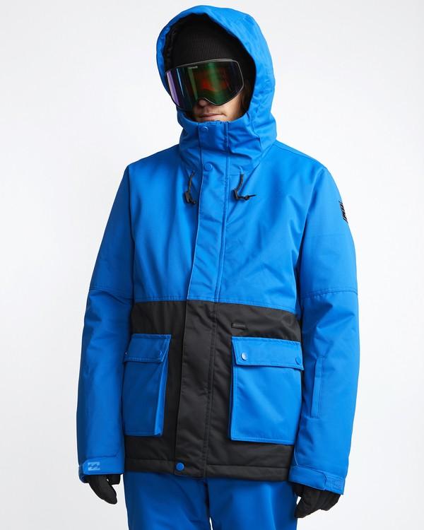 0 Fifty 50 - Snow Jacket for Men Blue Q6JM04BIF9 Billabong