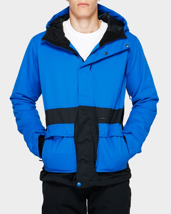 0 Fifty 50 2L 10K Jacket Blue Q6JM04S Billabong