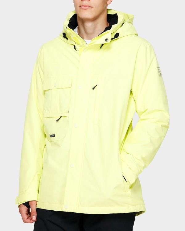 0 Shadow 2L 10K Jacket Yellow Q6JM10S Billabong