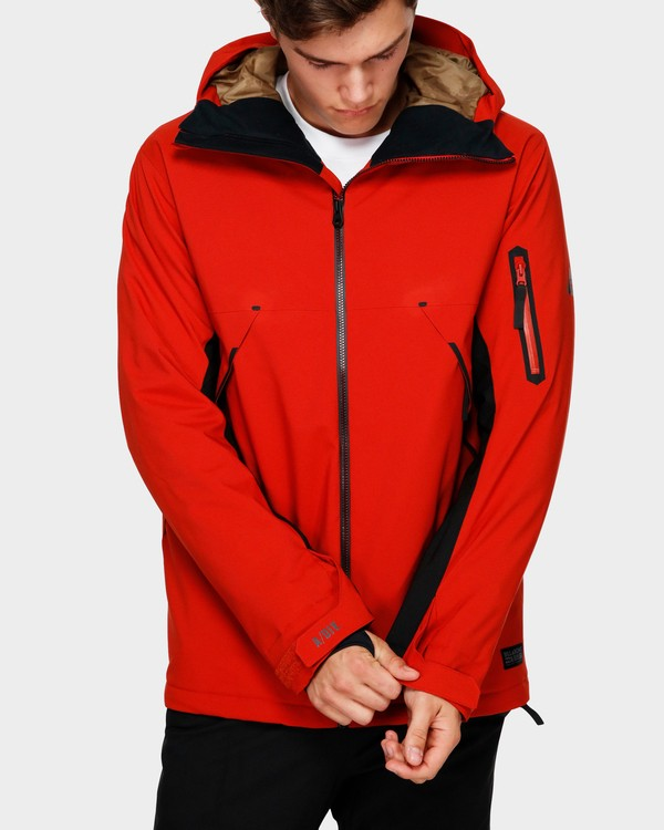 0 Expedition 2L 15K Jacket Red Q6JM12S Billabong