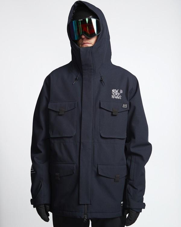 0 Adversary - Snow Jacket for Men Black Q6JM16BIF9 Billabong