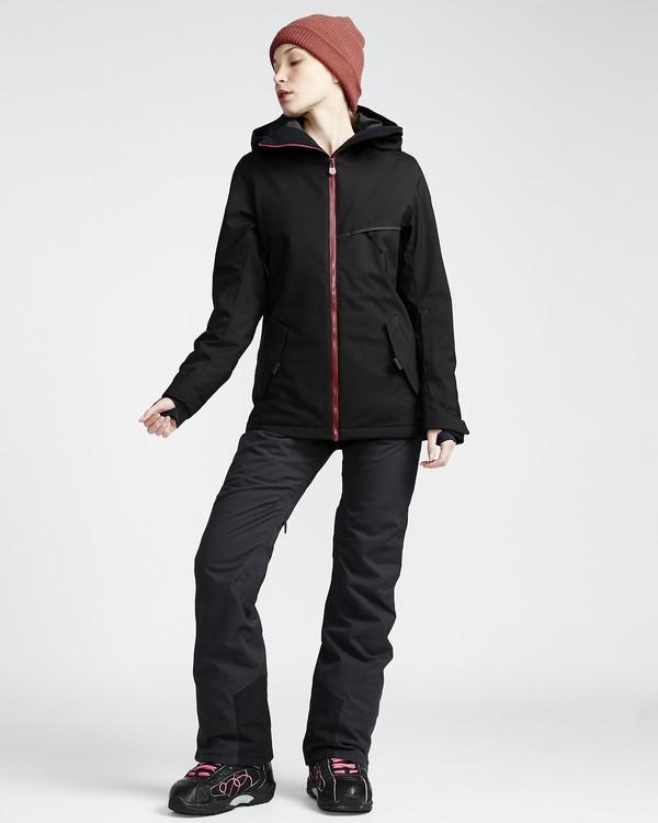 0 Drifterx - Ski- und Snowboardhose für Frauen Schwarz Q6PF02BIF9 Billabong