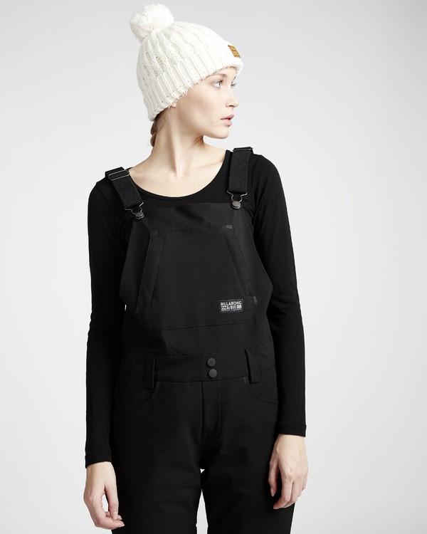 0 Riva - Pantalón para Nieve con Peto para Mujer Negro Q6PF05BIF9 Billabong