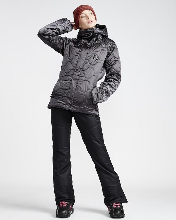 0 Malla - Ski- und Snowboardhose für Frauen Schwarz Q6PF07BIF9 Billabong