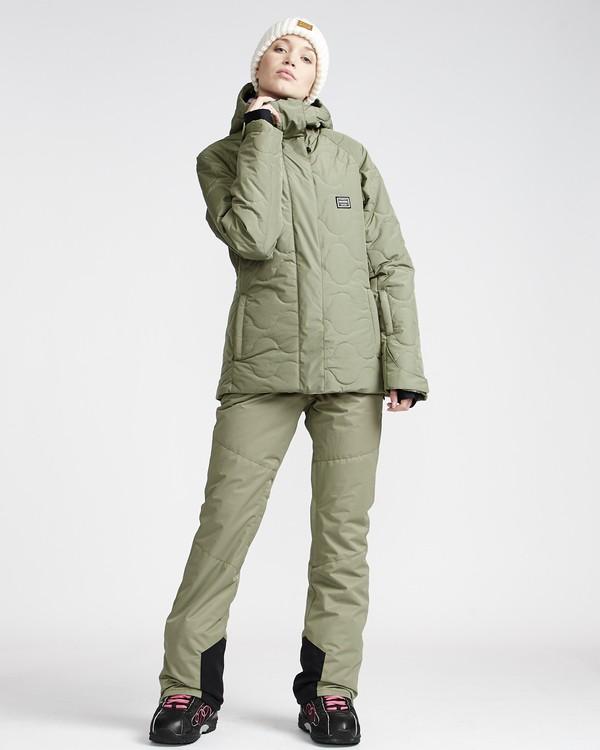 0 Malla - Pantalón para Nieve para Mujer Verde Q6PF07BIF9 Billabong