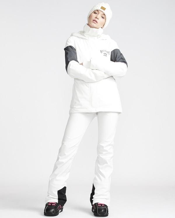 0 Flake - Pantalón para Nieve para Mujer Blanco Q6PF08BIF9 Billabong