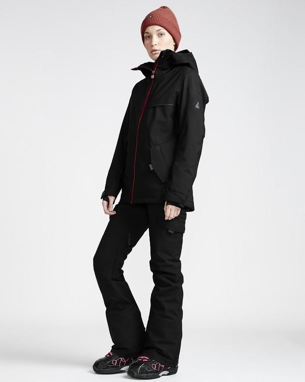 0 Nela - Pantalón para Nieve para Mujer Negro Q6PF10BIF9 Billabong
