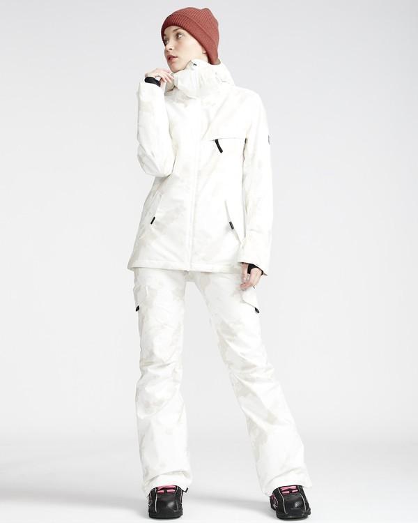 0 Nela - Pantalón para Nieve para Mujer Blanco Q6PF10BIF9 Billabong