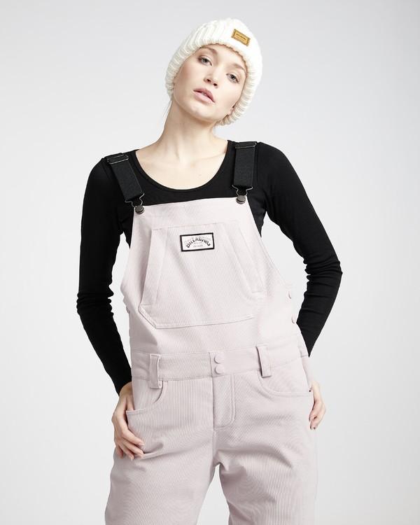 0 Riva - Pantalón para Nieve Cord con Peto para Mujer  Q6PF11BIF9 Billabong