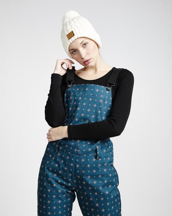 0 Riva Printed - Bib Snow Trousers for Women  Q6PF12BIF9 Billabong
