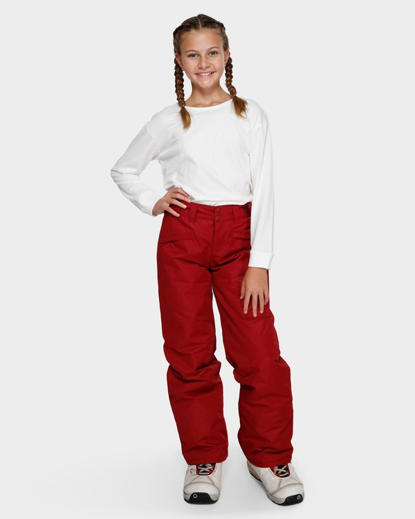 0 Teen Alue 2L 10K Pant Red Q6PG01S Billabong