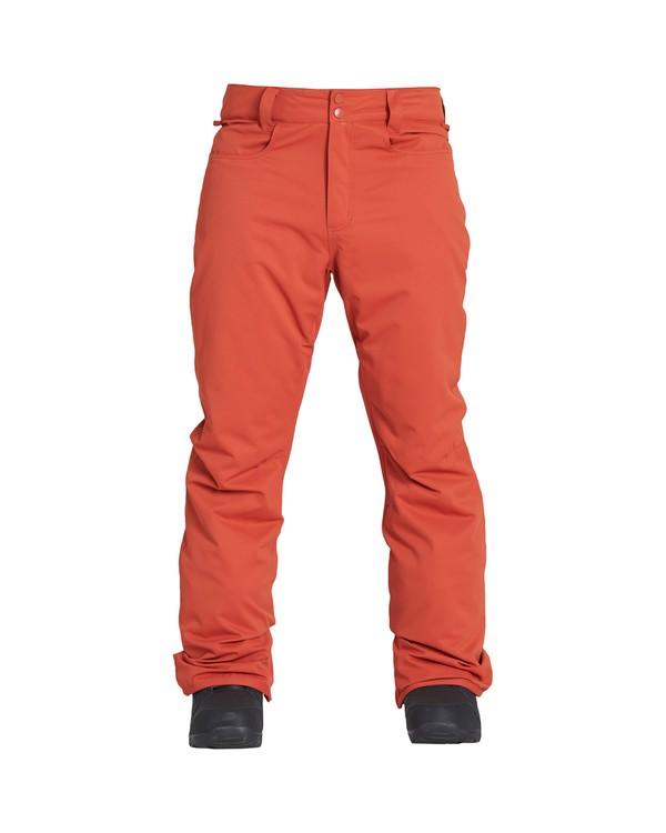 0 Outsider - Ski- und Snowboardhose für Männer Rot Q6PM08BIF9 Billabong