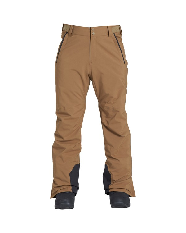 0 Compass - Snow Trousers for Men Brown Q6PM11BIF9 Billabong