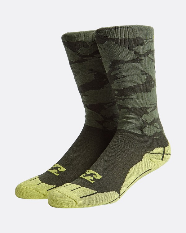 0 Sundayss - Sundays Snow Socks for Men Camo Q6SO01BIF9 Billabong